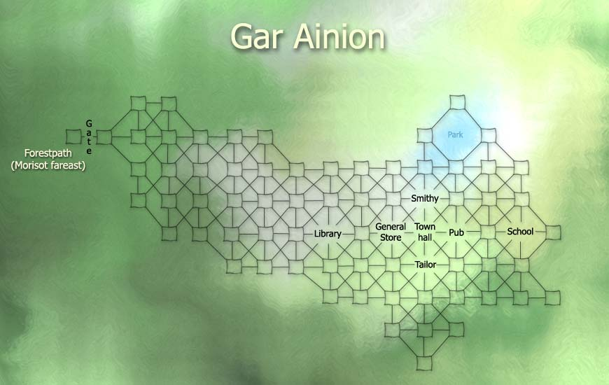 Gar Ainion City by poEljyad